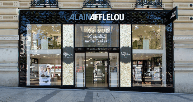 Store Afflelou: eyewear staging